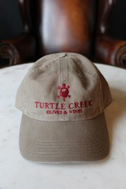 Tan Comfort Buckle Hat